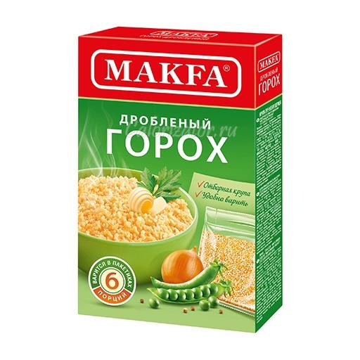 Горох Makfa дробленый в пакетиках