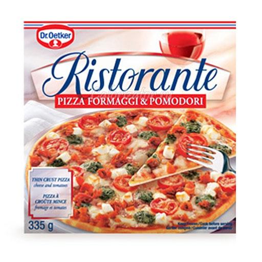 Пицца Ristorante Formaggi and Pomodori