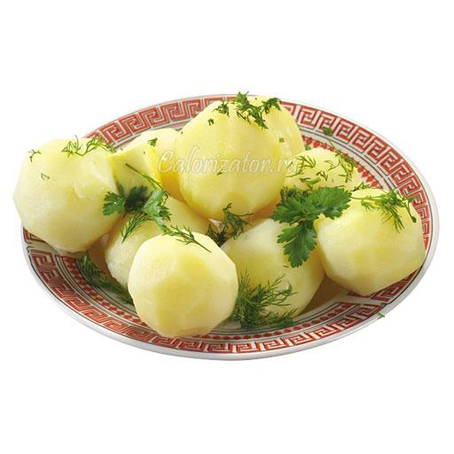 Картофель варёный