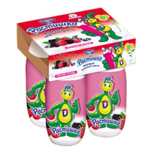 Йогурт Растишка с лесными ягодами