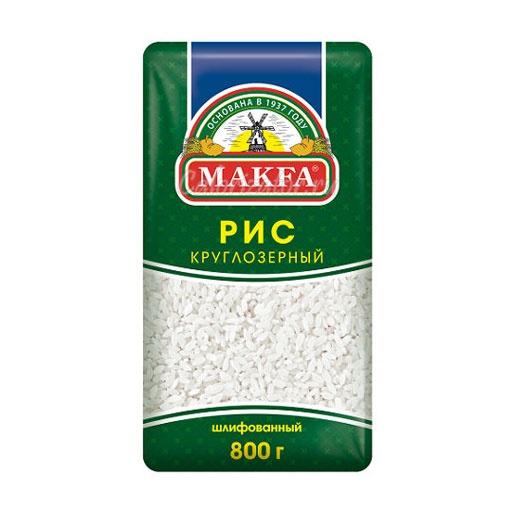 Рис Makfa круглозерный