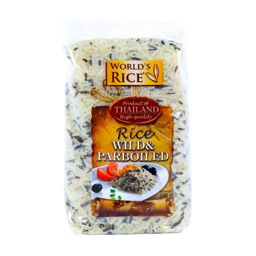 Рис Дикий + Парбоилд Worlds Rice