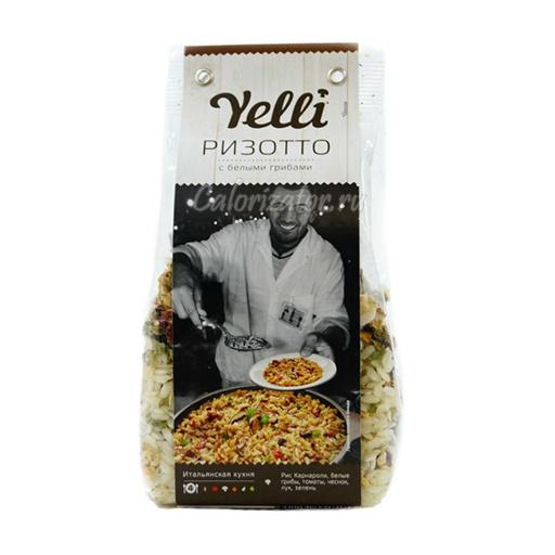 Ризотто Yelli с белыми грибами