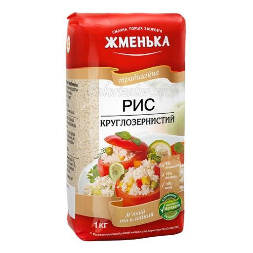 Рис Жменька круглозернистый