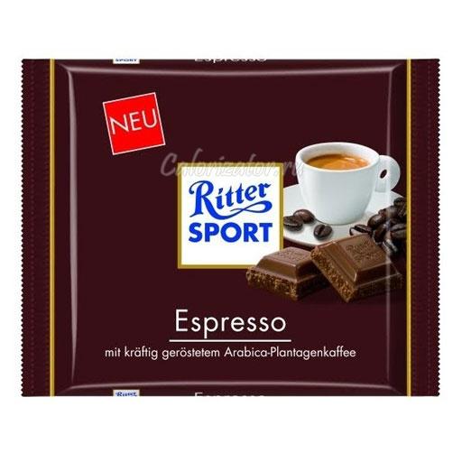 Шоколад Ritter Sport молочный Эспрессо