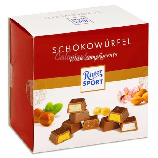 Шоколад Ritter Sport Schokowurfel