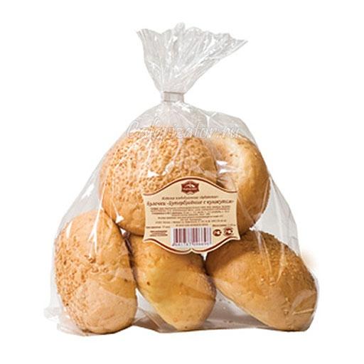 Булочки Бутербродные с кунжутом