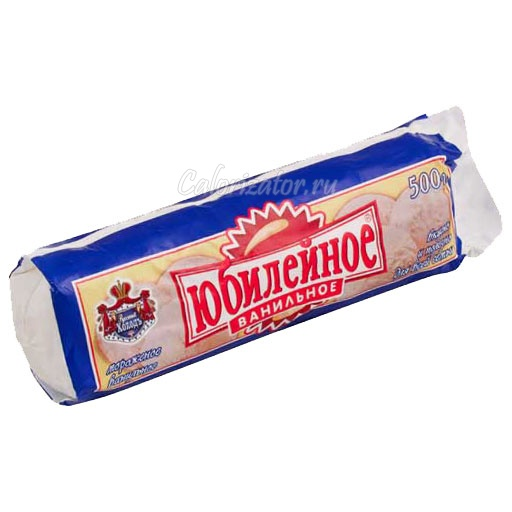 Мороженое Русский Холодъ Юбилейное ванильное