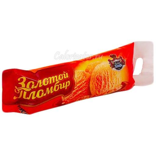 Мороженое Русский Холодъ Золотой пломбир