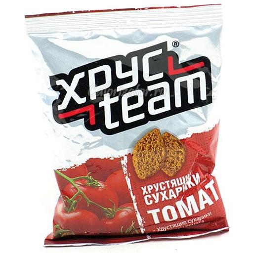 Сухарики Хрусteam томат