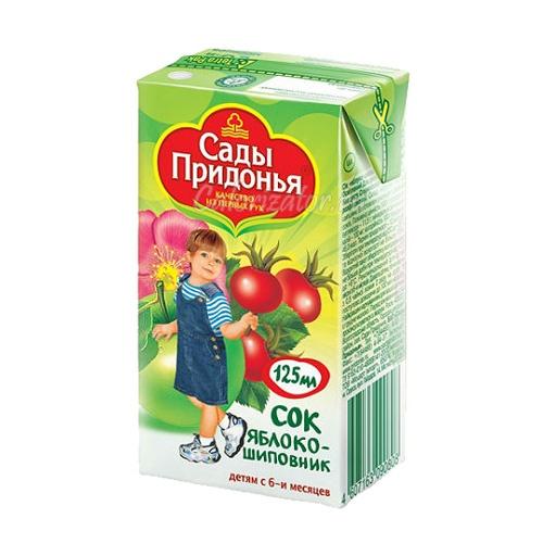 Сок Сады Придонья Яблоко-Шиповник