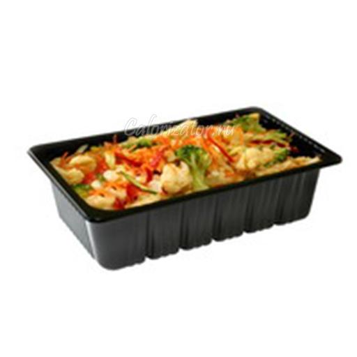 Салат из цветной капусты готовый