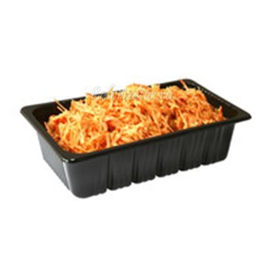 Морковь с чесноком и орехами готовая