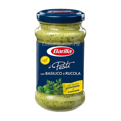 Соус Barilla Pesti con Basilico e Rucola