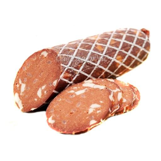 Колбаса вегетарианская полукопченая Vego с сыром постная
