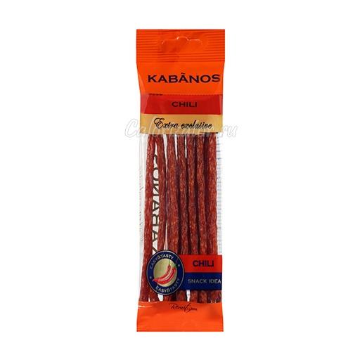 Колбаски сырокопченые Ремит Kabanos Chili