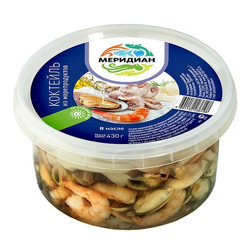 Морепродукты консервированные