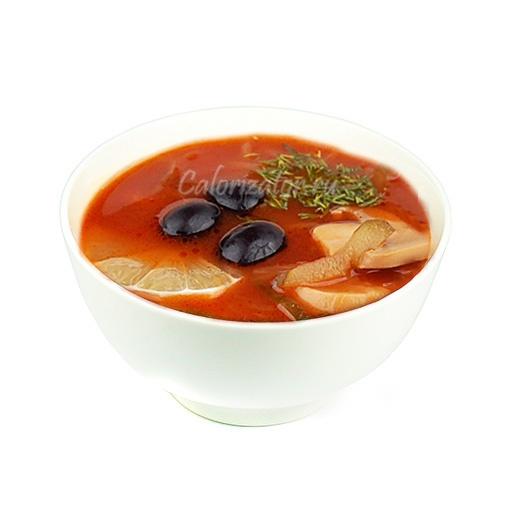 Солянка овоще-грибная из свежей капусты