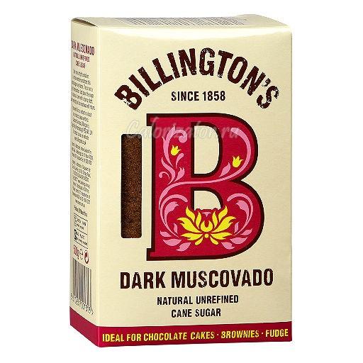 Сахар Billington's нерафинированный тростниковый Dark Muscovado