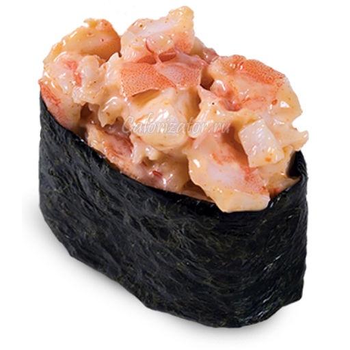 Суши Супайсу эби