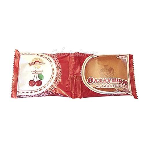Оладушки с вишней