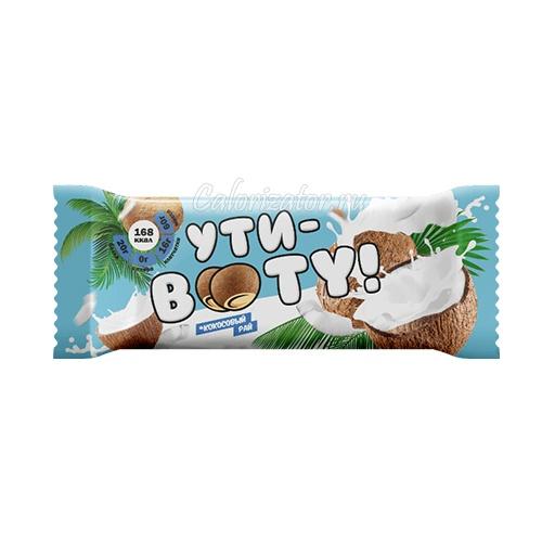 Батончик Ути-Booty протеиновый Кокосовый рай