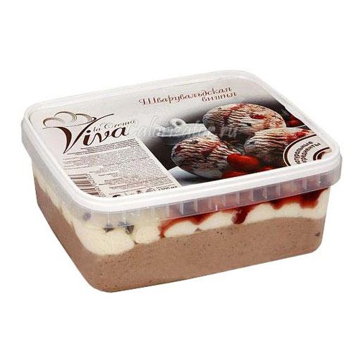 Мороженое Viva la Crema Шварцвальдская вишня