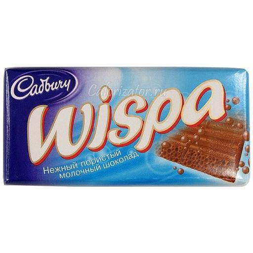 Шоколад Wispa пористый молочный