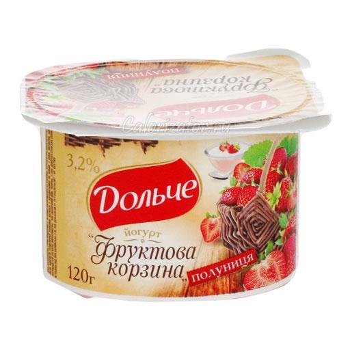 Йогурт фруктовый 3.2%