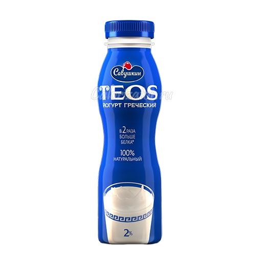 Йогурт Савушкин TEOS греческий питьевой