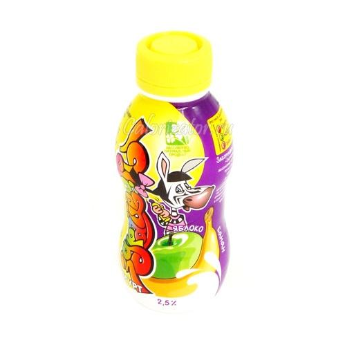 Йогурт Здрайверы яблоко-банан 2.5%