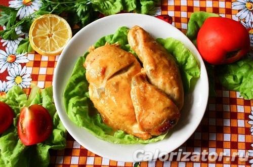 Куриное филе с горчицей