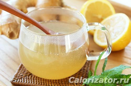 Вода с лимоном и медом натощак