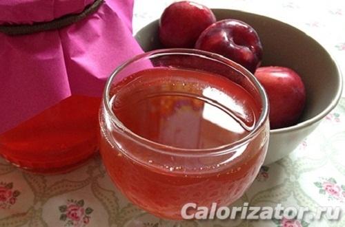 Сок сливово-яблочный