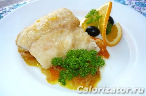Запеченная тиляпия на овощах под сыром