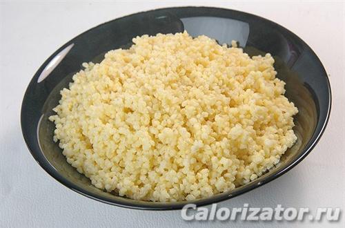 Каша пшеничная на воде