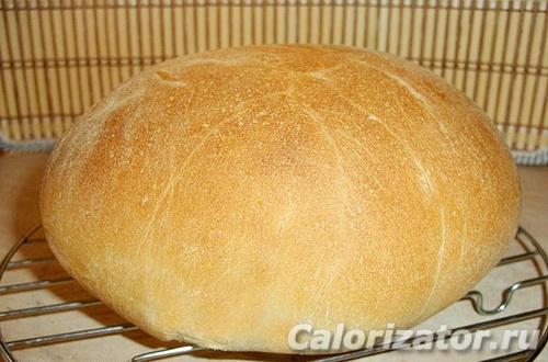 Хлеб пшеничный на воде