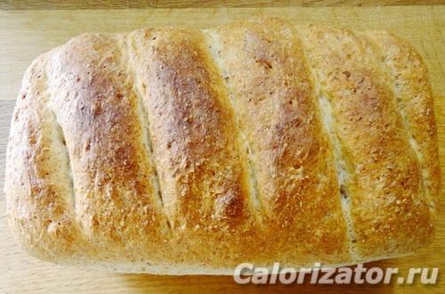 Хлеб пшеничный с отрубями