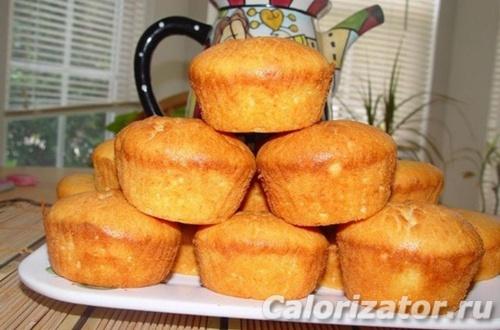 Кексы с ананасом