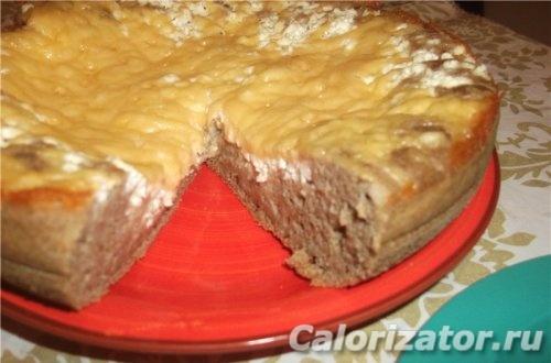Пирог нутовый