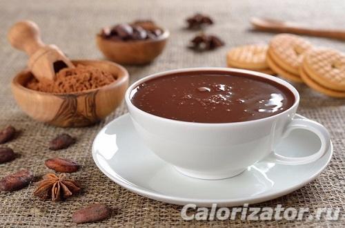 Какао на воде