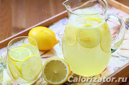 Лимонад для диеты кето