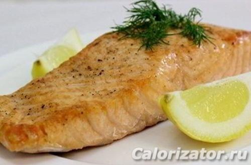 Филе лосося с горчицей по Дюкану