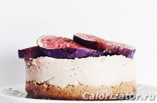 Десерт из кешью и инжира