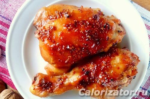 Курица с кетчупом в мультиварке по Дюкану