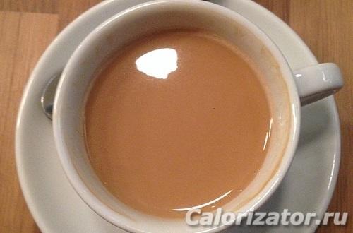 калорийность растворимого кофе с молоком без сахара