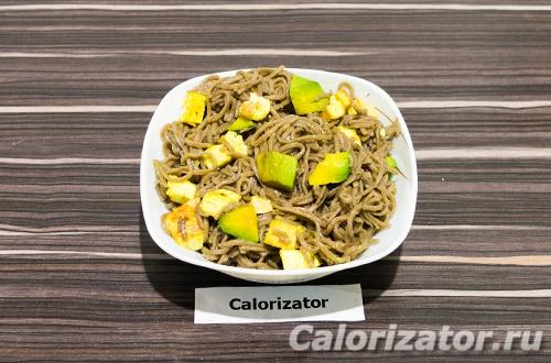 Гречневая лапша с авокадо и сыром - как приготовить, рецепт с фото по шагам, калорийность.
