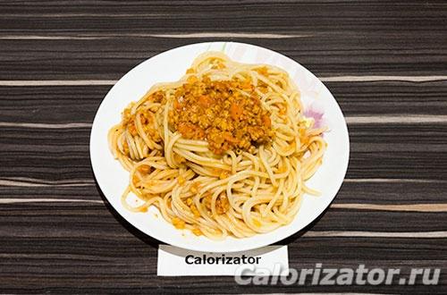 Вегетарианская паста болоньезе