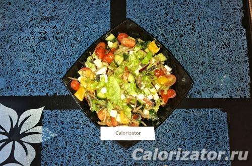 Греческий салат с брынзой - как приготовить, рецепт с фото по шагам, калорийность.