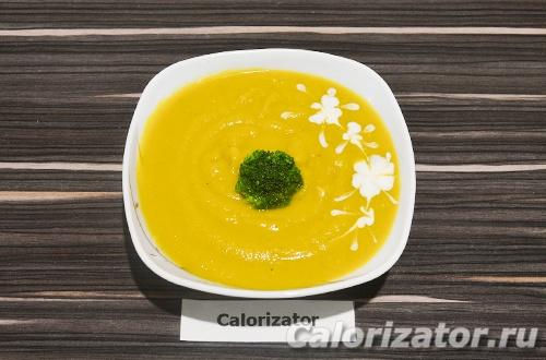 Тыквенный суп-пюре с брокколи